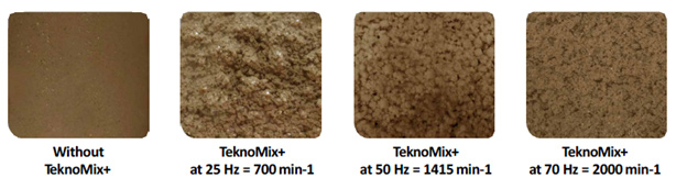 DRYCAKE TeknoMix+ Mixing Results: 4 before and after photos