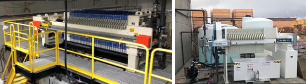 Photos of 2 Full Circle Water filter presses