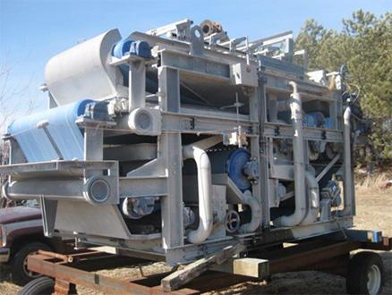 Rebuilt Ashbrook 1.2 Meter Type 85 Klampress Belt Filter Press