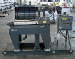 Skid mounted decanter centrifuge system