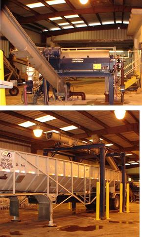 2 photos of Tarpon Springs FL decanter centrifuge system