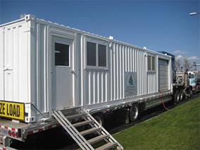 Trailer mounted 300-GPM Bargam centrifuge system