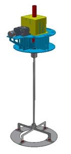 CAD rendering of VORT-X Ring Mixer